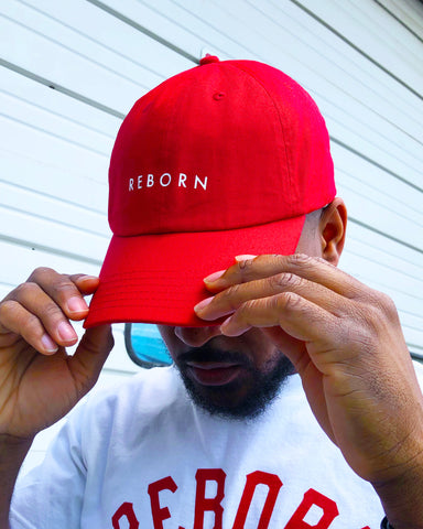 Reborn Dad Hat in Red