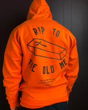 Load image into Gallery viewer, RIP Hoodie in Orange