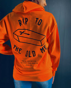 RIP Hoodie in Orange