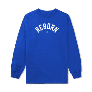 Reborn Arch L/S Tee in Blue