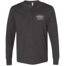 Load image into Gallery viewer, Grey Long Sleeve Henley