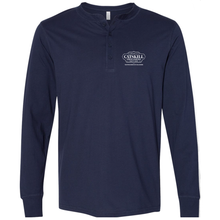 Load image into Gallery viewer, Navy Long Sleeve Henley