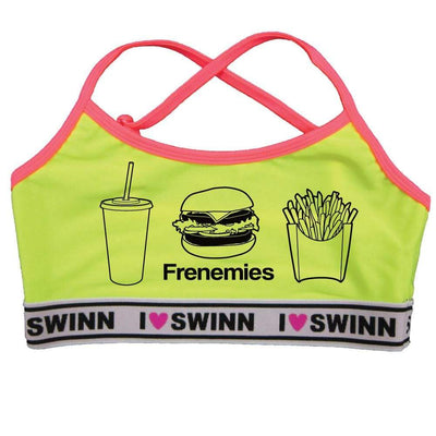 Bra Bra Neon Yellow / Small - 34 / Thin-Strap The Frenemies Bra- by Swinn- Thin Strap