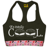 Swinn Bra Black / Small - 34 'It's Totally Cool' Bra w/ Pizza Elastic by Swinn - Black *Limited Edition*