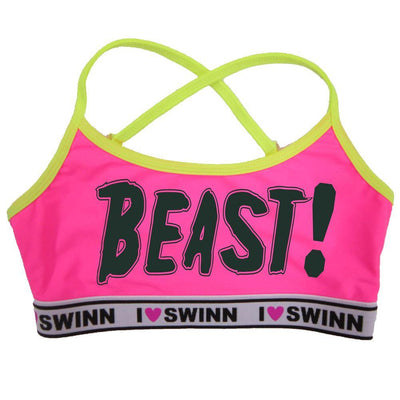 Swinn Bra Coral / XS - 30/32 / Thin-Strap The Beast Bra by Swinn- Thin Strap