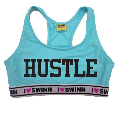 Swinn Bra Light Blue / XS - 30/32 The Hustle Bra- by Swinn