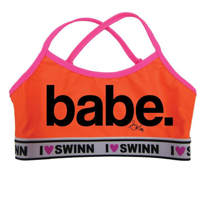 Swinn Bra Neon Orange / XS - 30/32 The Babe Bra- by Swinn -Thin Strap