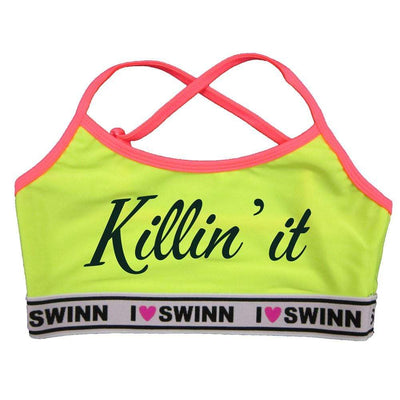 Swinn Bra Yellow / XS - 30/32 / Thin-Strap The Killin' It Bra Thin Strap