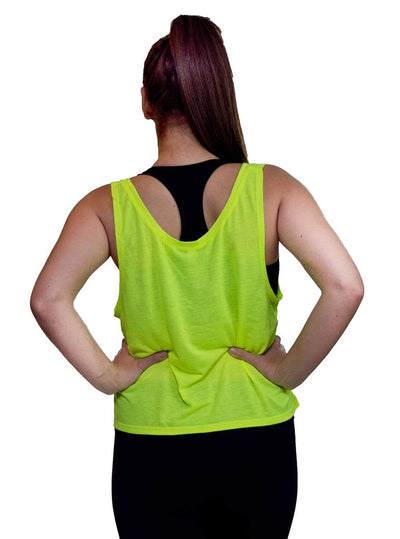 Swinn Tank Top Small / neon yellow 'It's Totally Cool' Neon Tank by Swinn