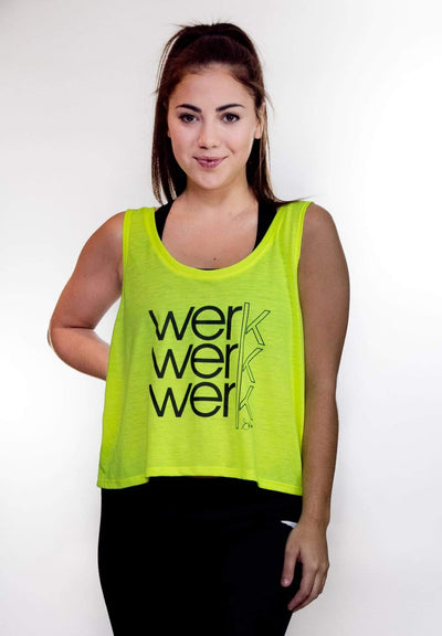 Swinn Tank Top Small / White The Werk Tank by Swinn