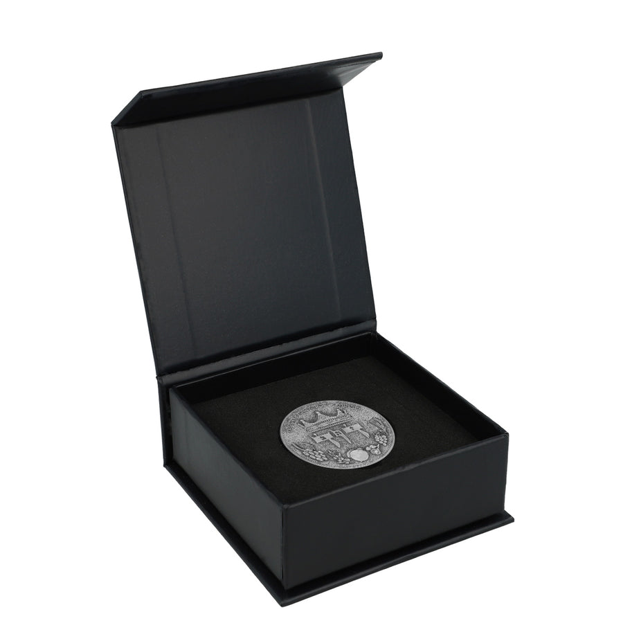 King David Half Shekel Silver Plated Coin