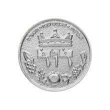 Load image into Gallery viewer, King David Half Shekel Solid Silver Coin