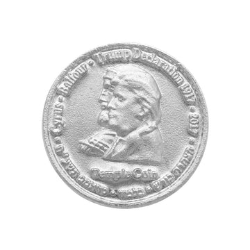 The Original Trump Cyrus Coin- SOLID SILVER