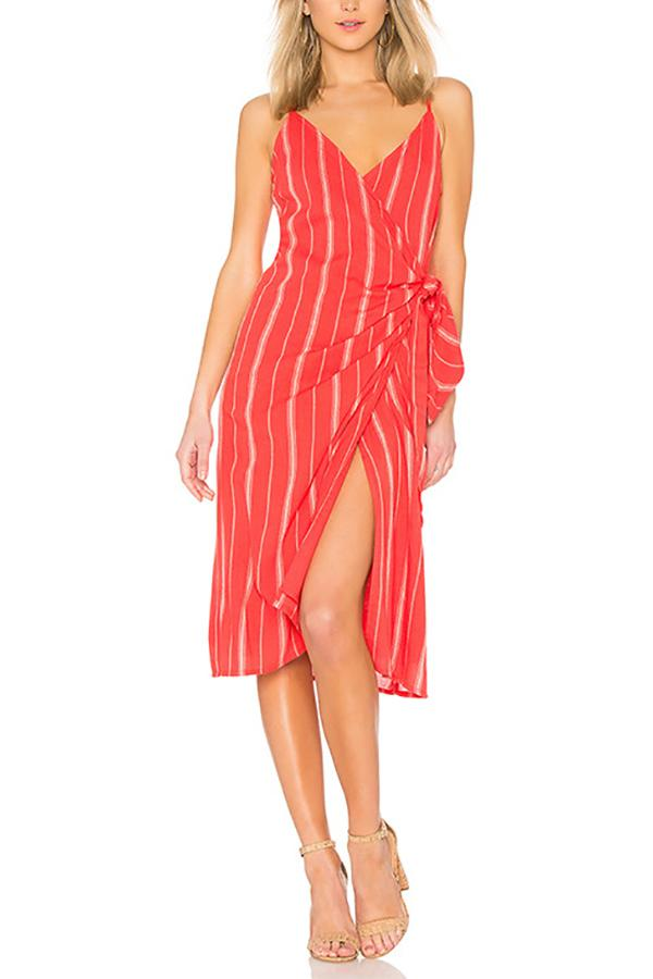 Casual Sexy V Neck   Sling Strips Maxi Dresses Same As Photo s