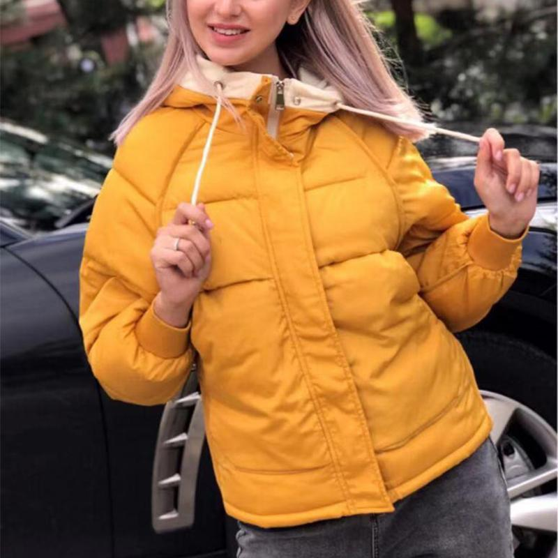 Women's Fashion Long Sleeve Cotton Coat