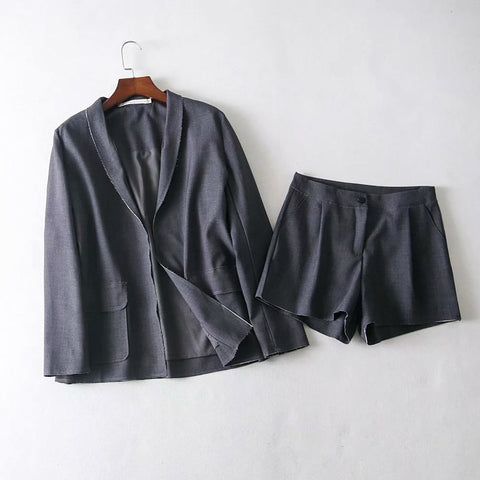 Image of Fashion Fluid Systems Loose Plain  Suit