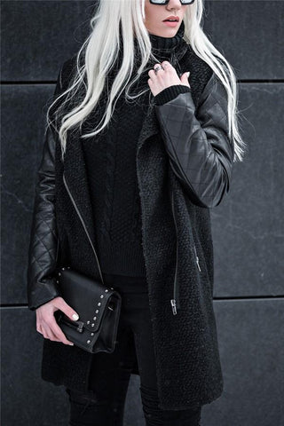 Image of Fashion Ladies Down   Coat Cotton Clothing Black s