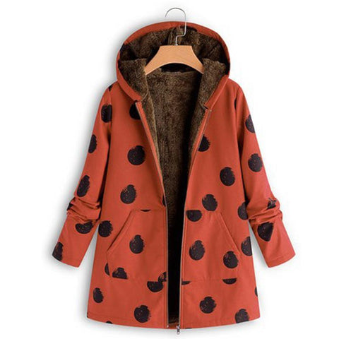 Image of Polka Dot Selling So Printed Jacket Yellow 2xl
