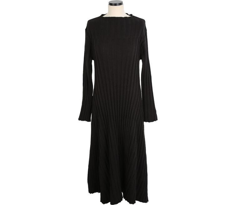 Casual Sexy Medium length loose Knitted Maxi dress