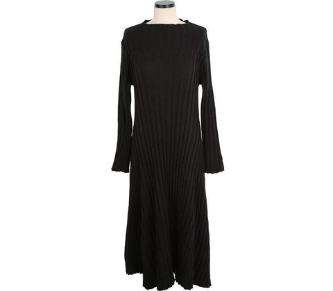 Image of Casual Sexy Medium length loose Knitted Maxi dress