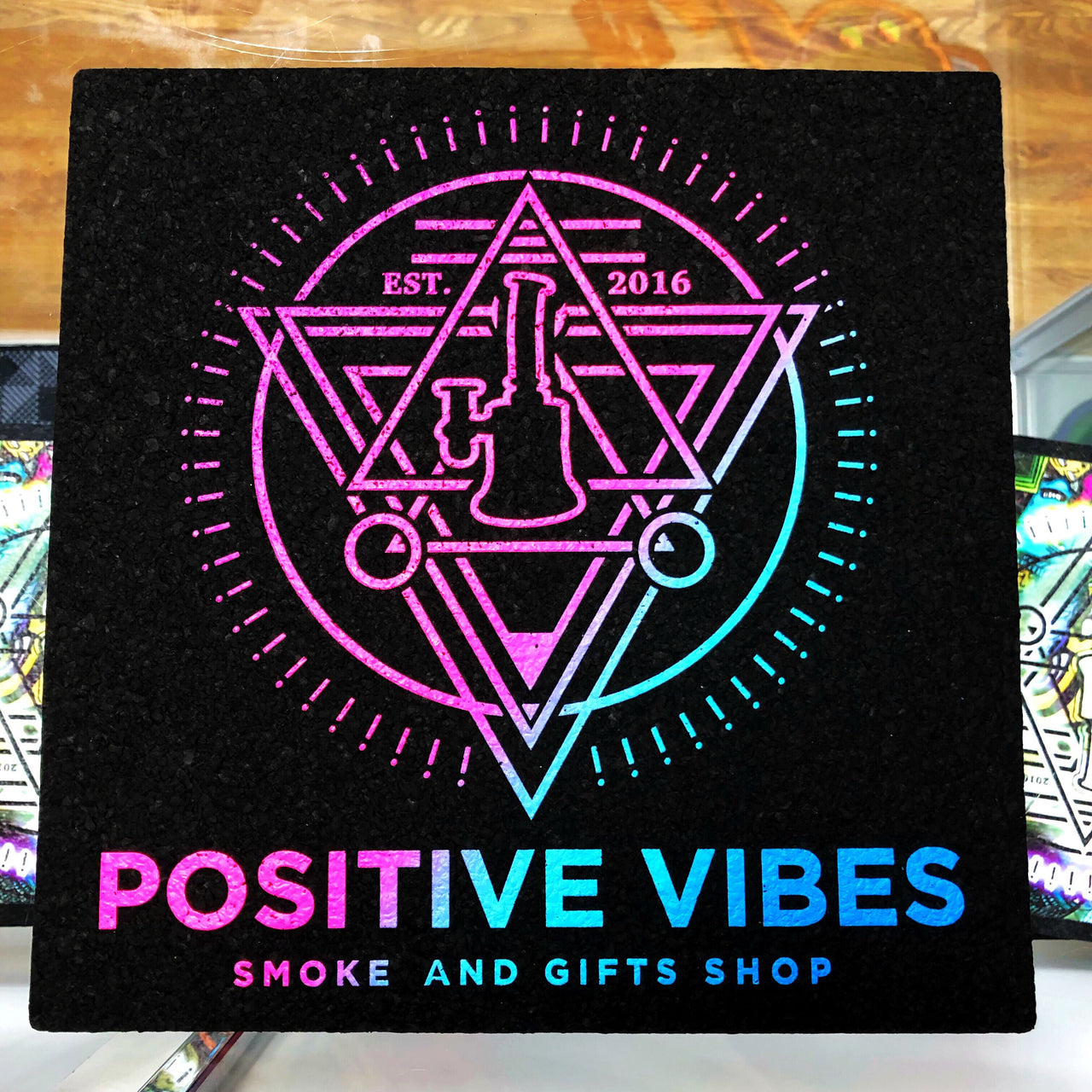 "POSITIVE VIBES MOOD Mat ""Juice"" Color combo"