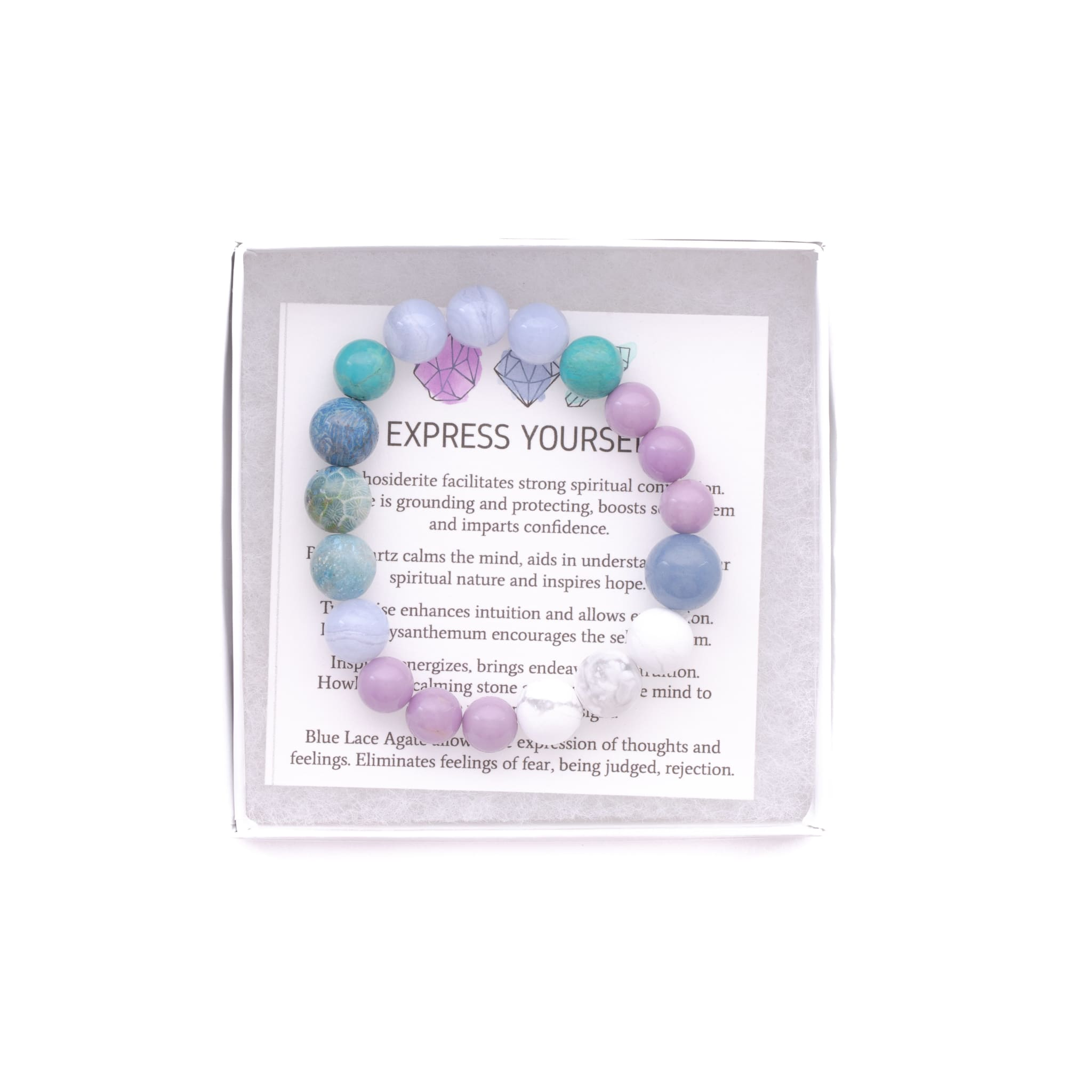 Express Yourself - onethree gems Bracelet