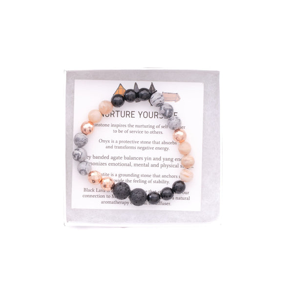 Nurture Yourself - onethree gems Bracelet