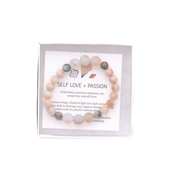 Self Love + Passion - onethree gems Bracelet