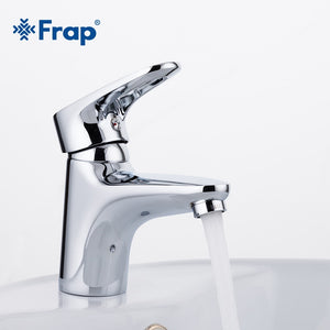 Frap 1 set Bathroom basin faucet torneira Mixer Tap Single Lever Cold And Hot Water sink Tap Brass Body Material F1068