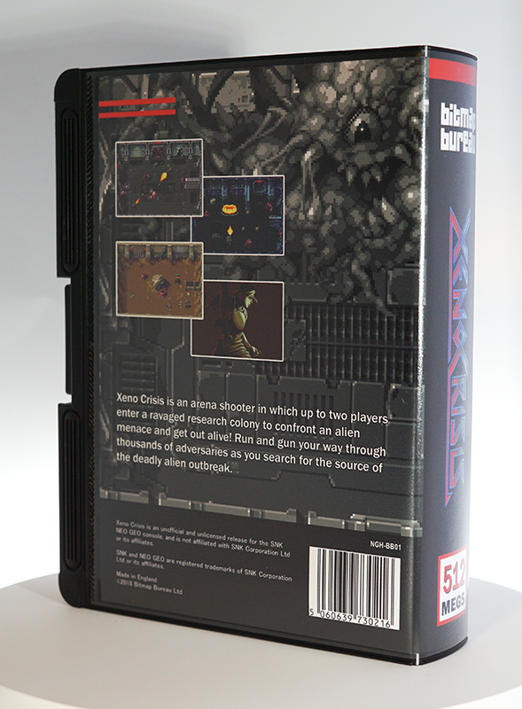 Xeno Crisis - Neo Geo AES - Collector's Edition