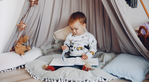 Morning and bedtime routine for toddlers