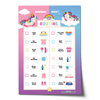Editable Unicorn Morning Bedtime Routine Chart