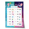Editable Mermaid Morning Bedtime Routine Chart
