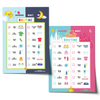 Editable Neutral & Princess Morning Bedtime Routine Chart Bundle