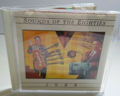 Sounds Of The Eighties 1988 CD Album Cheap Trick Poison Foreigner Bangles Pop - Post Punk Records