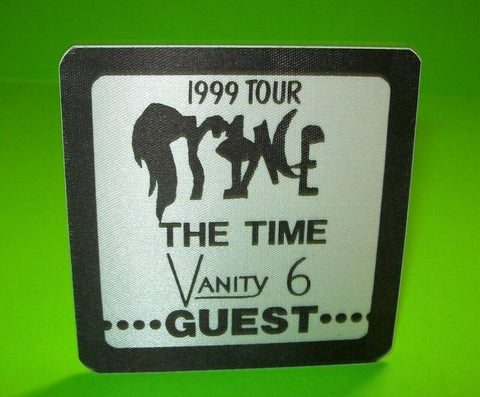 Prince 1999 Tour Backstage Pass The Time Vanity 6 Concert Original Otto NOS - Post Punk Records