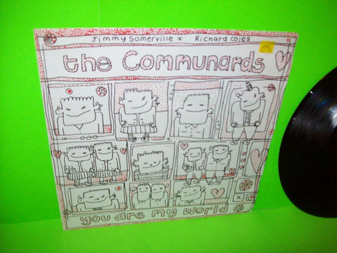 "Communards You Are My World Vinyl 12"" EP Record 1985 Synth-Pop UK Near Mint"