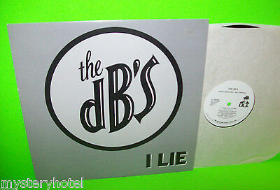 "THE DB's I LIE 1987 VINTAGE NEW WAVE INDIE POWER POP 12"" PROMO VINTAGE VINYL - Post Punk Records"