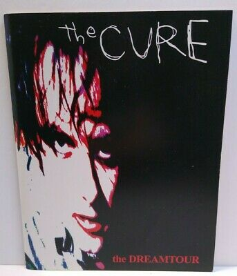 The Cure Dreamtour ORIGINAL Tour Book Bloodflowers Post-Punk Goth Robert Smith - Post Punk Records