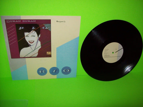 "Duran Duran ‎– Rio (Part 2) + My Own Way Vinyl 12"" EP Record UK Synth-Pop Warped - Post Punk Records"