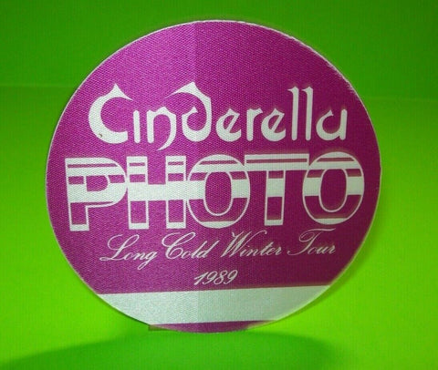 Cinderella Long Cold Winter Backstage Pass Concert Tour Otto Original 1989 - Post Punk Records