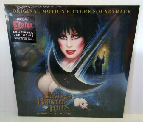 Elvira Haunted Hills Vinyl LP Record Horror Halloween Limited 300 Eric Allaman