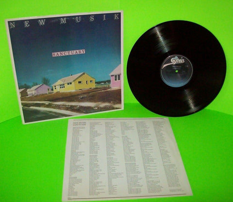 New Musik Sanctuary Vinyl LP Record 1981 Synth-Pop New Wave Tony Mansfield NM - Post Punk Records