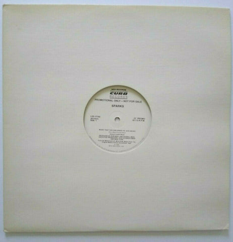 "Sparks Music That You Can Dance To Vinyl 12"" Record New Wave Synthpop Promo 1986"