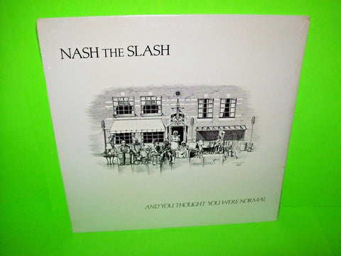 Nash The Slash ‎– And You Thought You Were Normal 1982 Vinyl LP Record Sealed - Post Punk Records