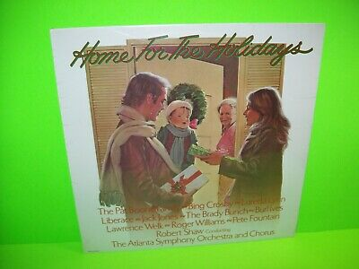 Home For The Holidays Christmas Music SEALED Vinyl LP Record Album Bing Crosby - Post Punk Records
