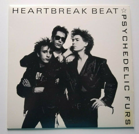 "The Psychedelic Furs Heartbreak Beat Vinyl 12"" Record Promo Post-Punk 1987"