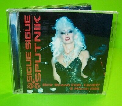 Sigue Sigue Sputnik New Ocean Club Cardif 6 March 1986 Limited Edition CD Rare - Post Punk Records