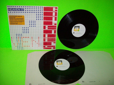 "Heaven 17 Contenders Double 12"" Vinyl EP Record Near Mint Gatefold Synth-Pop UK Import - Post Punk Records"