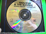 Siouxsie & The Banshees ‎Songs Before The Rapture Promo CD w Insert 4 Tracks Post-Punk Goth - Post Punk Records